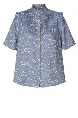 Lolly's Laundry | Print blouse Maria | blue