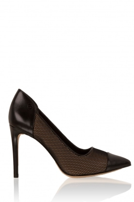 MICHAEL Michael Kors |  Leather pumps Leilah | black