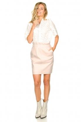 Look Cotton ajour blouse Maria