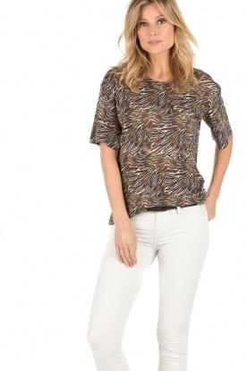 IRO   T-shirt Shay   Print
