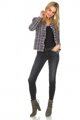 7 For All Mankind |  Cropped jeans The Skinny | black