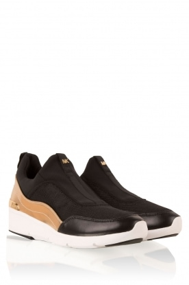 MICHAEL Michael Kors | Slip-on sneakers Ace | zwart
