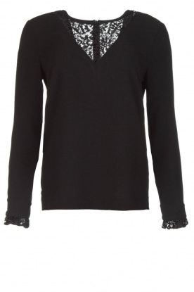 Dante 6 |  Top with lace Averin | black