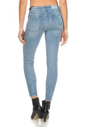 7 For All Mankind | Skinny jeans Bair | blauw