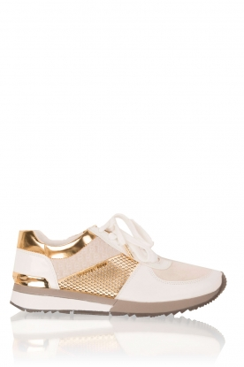 Leren sneakers Allie | wit