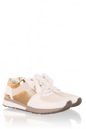 MICHAEL Michael Kors | Leren sneakers Allie | wit