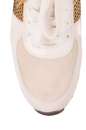 MICHAEL Michael Kors | Leren sneakers Allie | wit