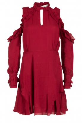 IRO |  Cut-out dress Hanie | red