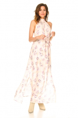 Look Sleeveless maxi dress with print Clerie