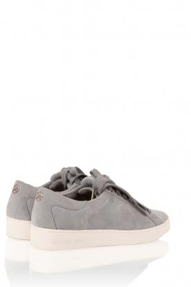 MICHAEL Michael Kors | Suède sneakers Keaton kiltie | blauw