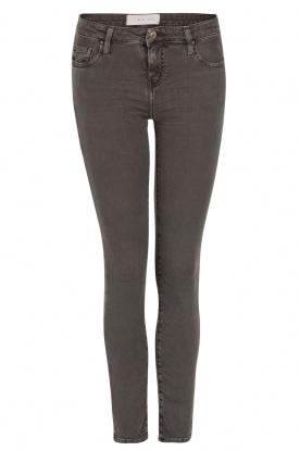 IRO | Low waist skinny jeans Jarod | donkergrijs