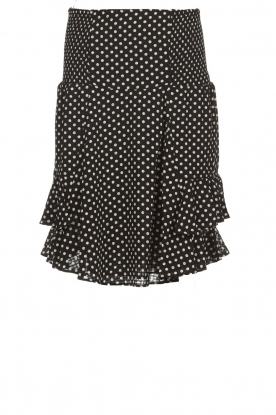 Lolly's Laundry |  Polkadot skirt Grace | black
