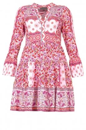 Hale Bob |  Floral dress Missour | pink