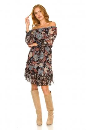 Look Off-shoulder dress Gourrama