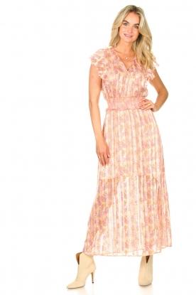 Look Ruffle maxi dress Luscious