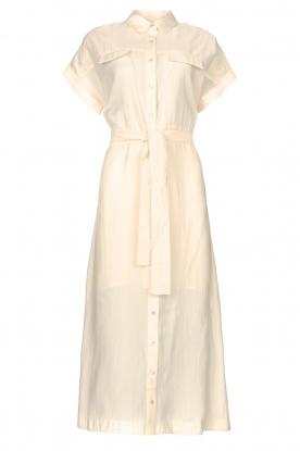 Dante 6 |  Midi button through dress Romy | natural