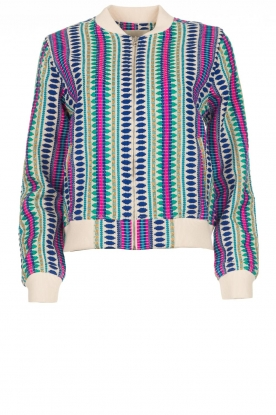 Lolly's Laundry |  Printed jacket Vie | multi