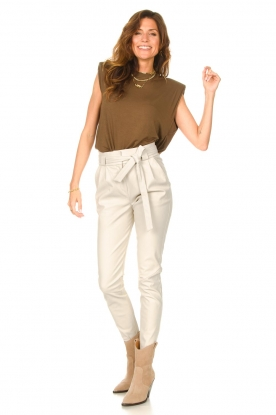 Look Basic top with open back Danthon