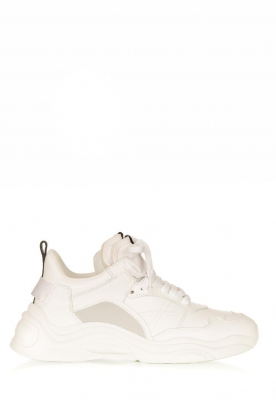 IRO | Leather sneakers Curve Runner | white