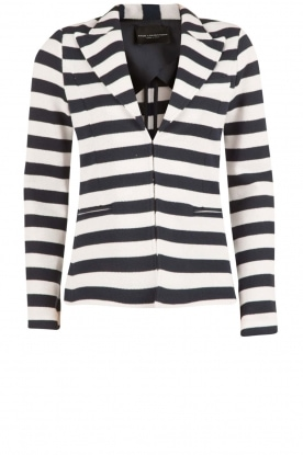 Atos Lombardini |  Striped blazer Pippa | blue/white