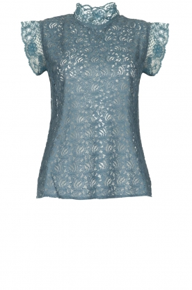 Lolly's Laundry | Lace top Dea | blue
