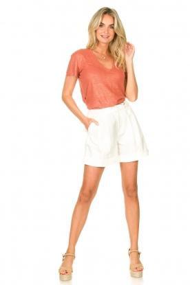 Look Linen T-shirt Birley