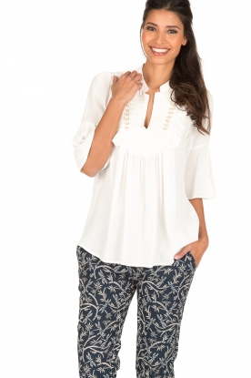 Atos Lombardini | Blouse Magdalena | wit