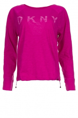 DKNY Sport |  Logo-printed sports top Hailee | pink