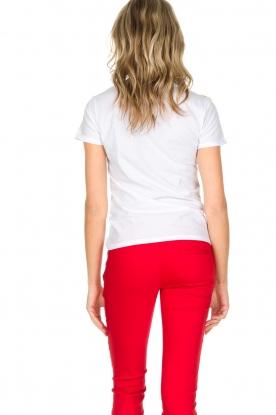 Patrizia Pepe | T-shirt Summer night | wit
