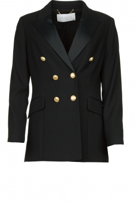 Nenette | Blazer with golden marine buttons Ballata | black