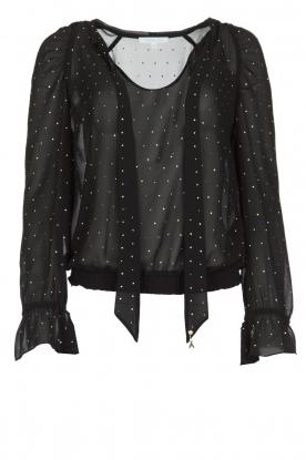 Patrizia Pepe | Blouse Camicia | zwart