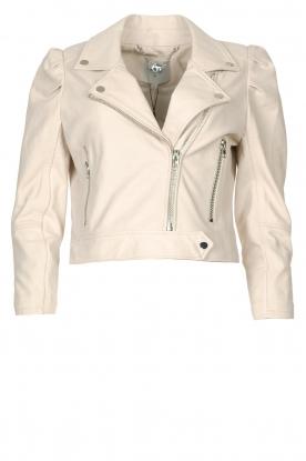 Dante 6 |  Short leather jacket Jae | natural