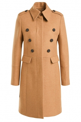 Set | Woolen coat Ilex | camel