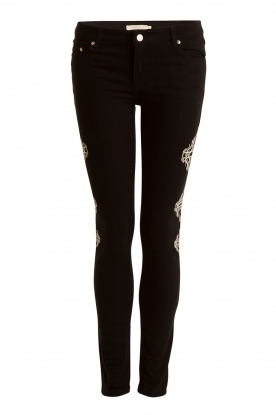 NIKKIE |  Skinny Jeans Graphic length 30 | black