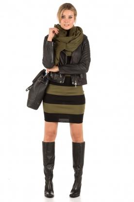 NIKKIE | Turtleneck jurk Jolie | groen