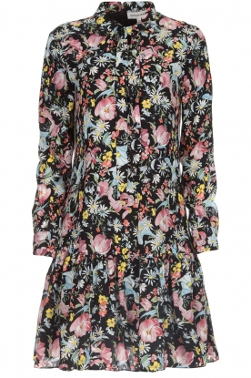 Silvian Heach |  Floral dress Zonghe | black