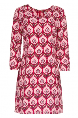 Silvian Heach |  Printed dress Takamatu | pink