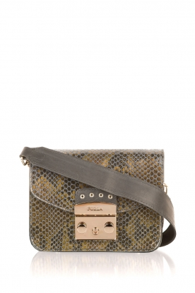 Furla |  Leather shoulderbag Metropolis Mini | green