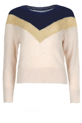 Leon & Harper |  Knitted sweater Musa | beige