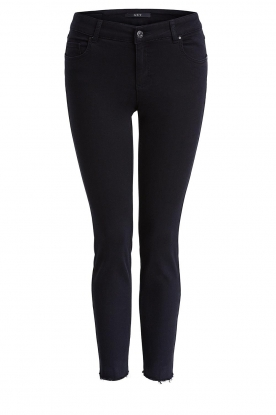 Set | Skinny jeans Rock | black