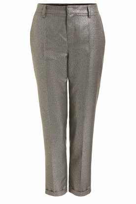 Set | Metallic chino trousers Danino | metallic