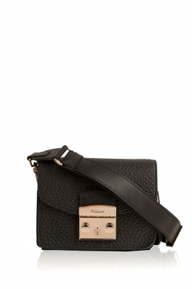 Furla |  Leather shoulderbag Metropolis Mini | black