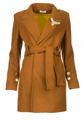Kocca |  Short cloak Flot | brown