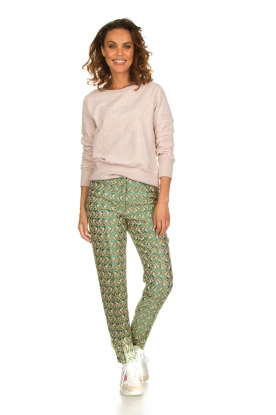 Silvian Heach |  Trousers with print Samut | multi