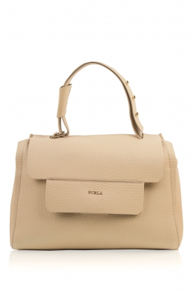 Furla |  Leather shoulderbag Carpriccio | beige