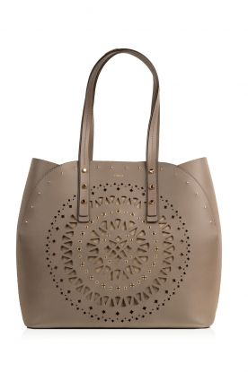 Furla |  Leather handbag Aurora | taupe