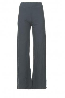 Lune Active |  Flared pants Forrest | blue