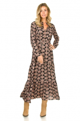 Look Printed maxi dress Abbi