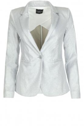 Atos Lombardini | Shimmering blazer Argento | silver