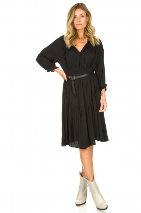 Look Midi dress with stand-up collar Nelly